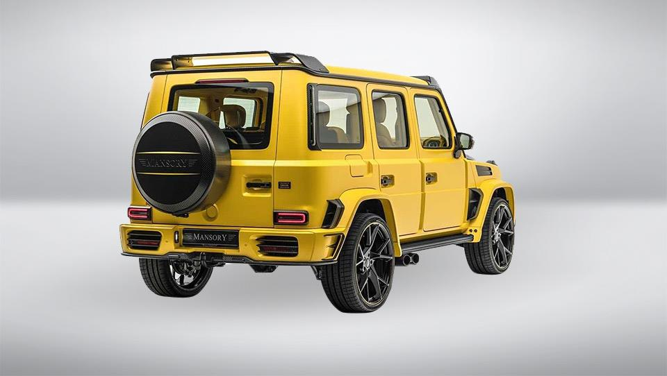 Mercedes-AMG G63 Gronos by Mansory